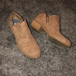 Dr scholls tan booties